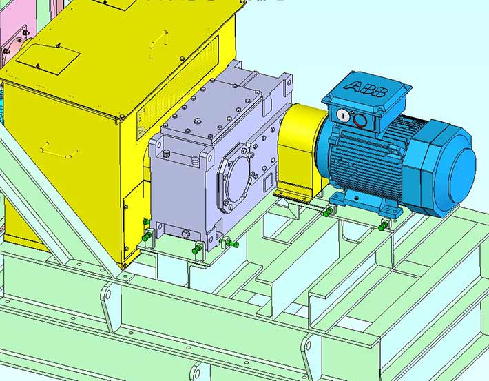 DMS Laser Profiles CAD Design